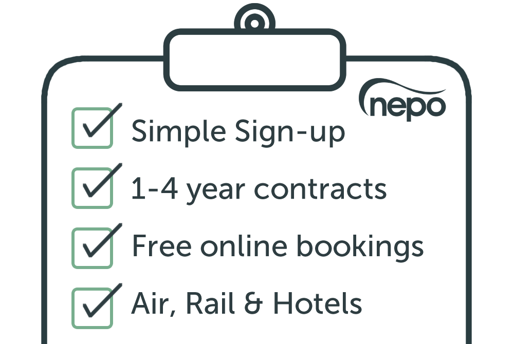 NEPO Framework benefits for travel management
