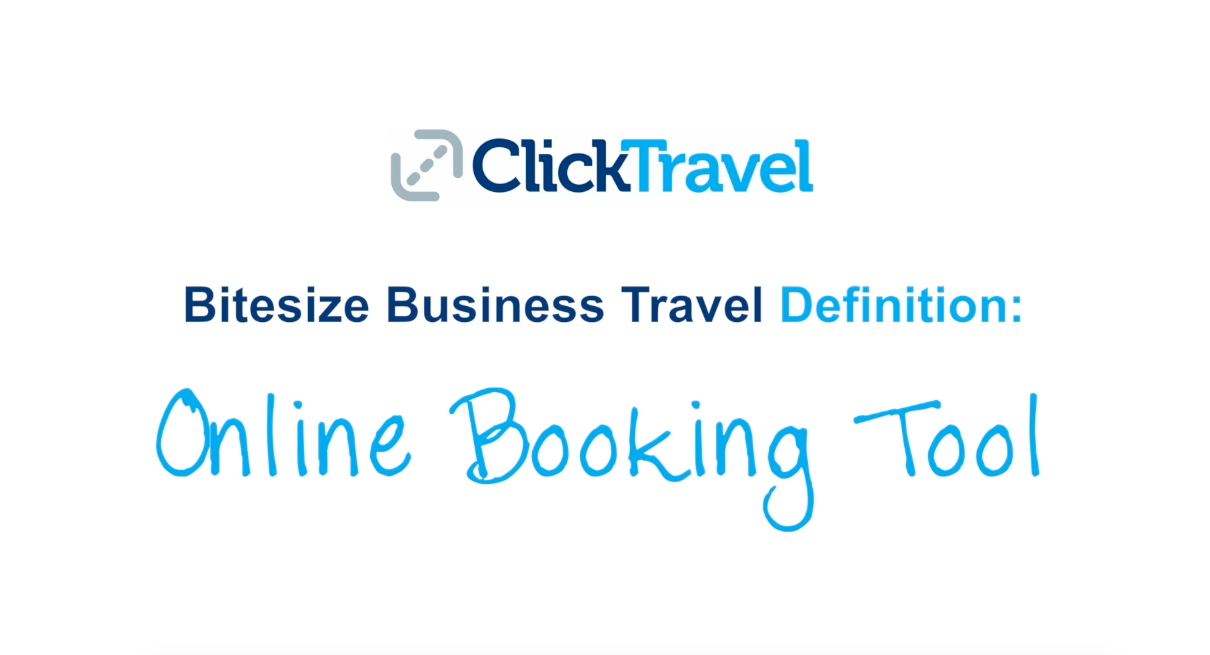 [VIDEO] Bitesize Business Travel Definition: Online Booking Tool