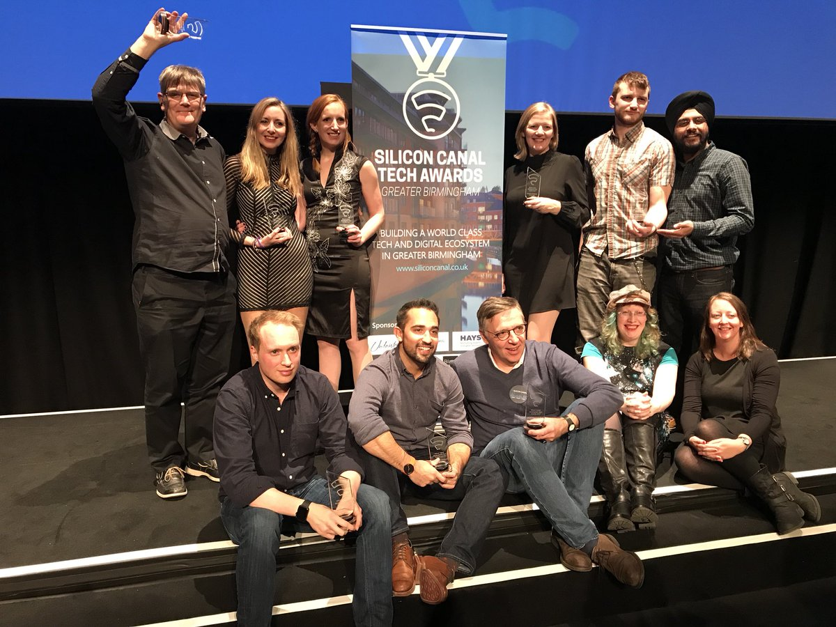 Click crowned Large Tech Company of the Year at Birmingham tech awards
