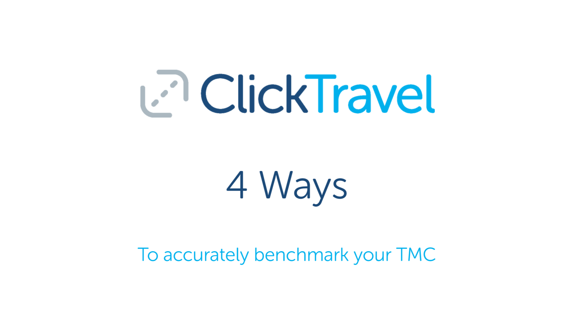 [VIDEO] Expert Advice : 4 Ways to benchmark your TMC