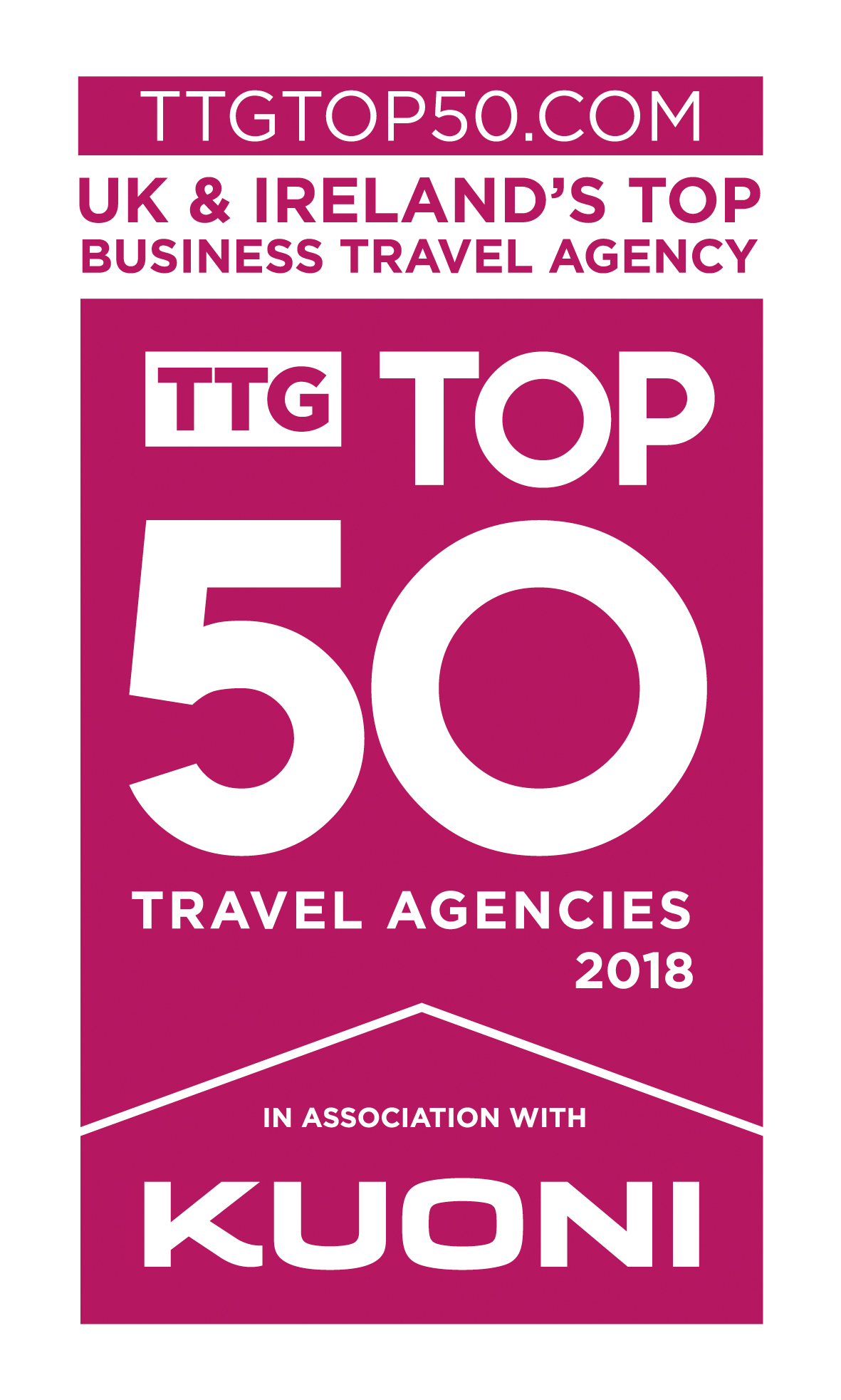 Click is TTG's top business travel agent!