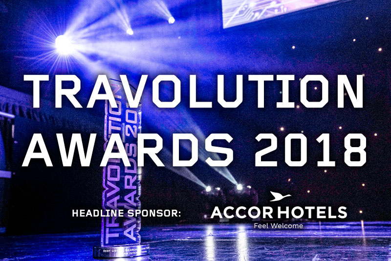 Click takes two at the Travolution Awards 2018