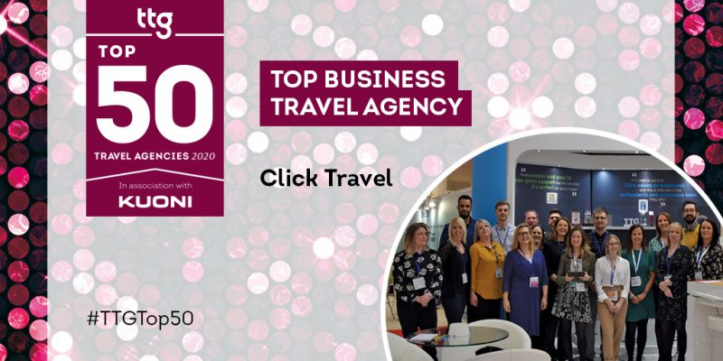 TTG Top Business Travel Agency