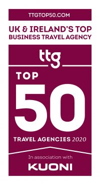 TTG Top Business Travel Agency Logo