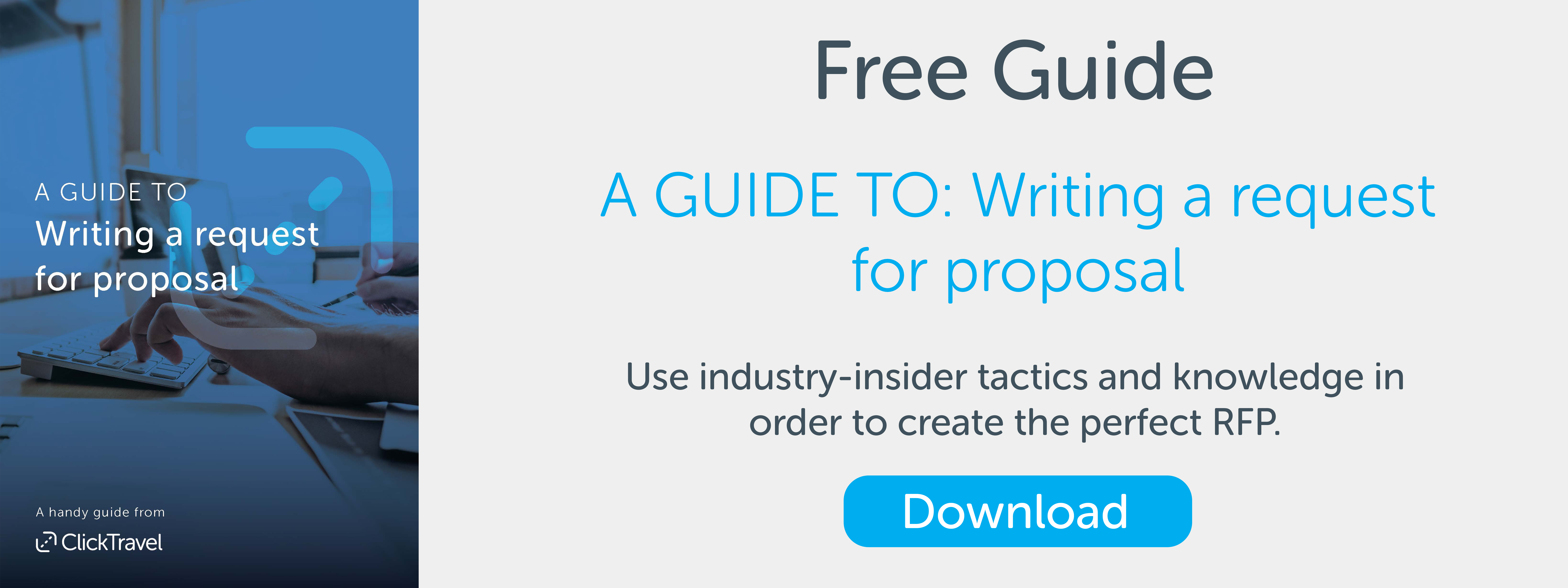 FREE Download - Guide to Writing a Request for Proposal | Business Travel