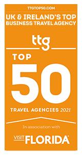 TTG Best Business Travel Agency 2021